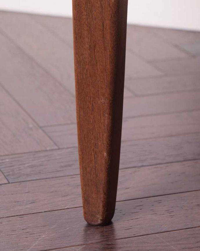 x-1209-f  アンティークオケージョナルテーブルの脚