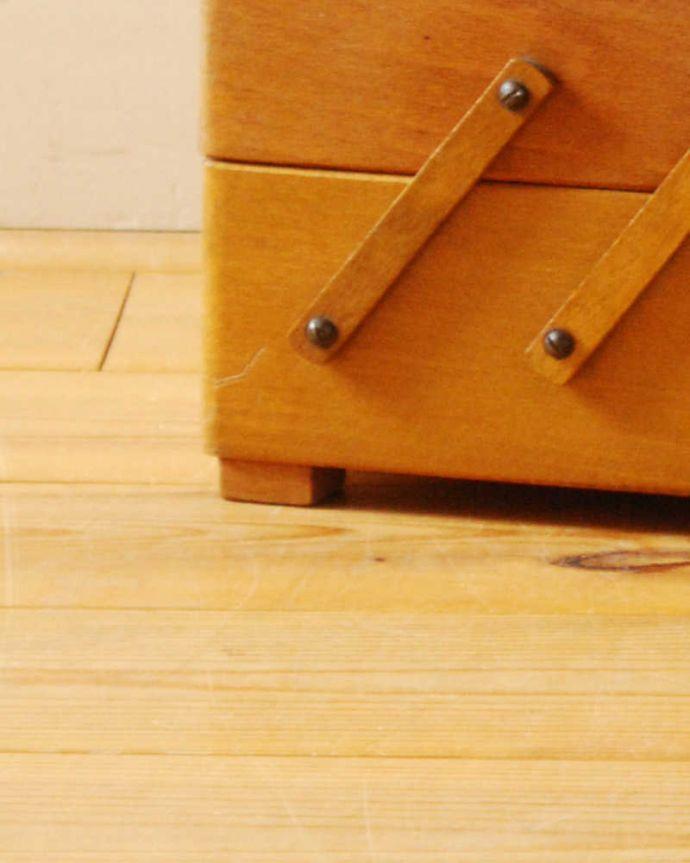 x-1218-f アンティークソーイングボックスの脚