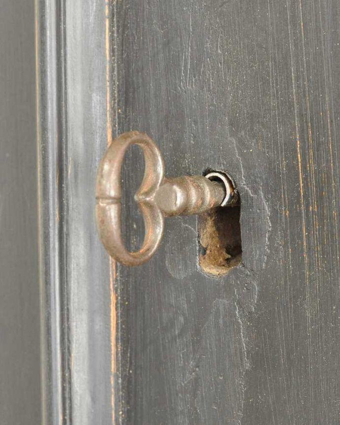 x-1228-f アンティークキャビネットの鍵、取っ手