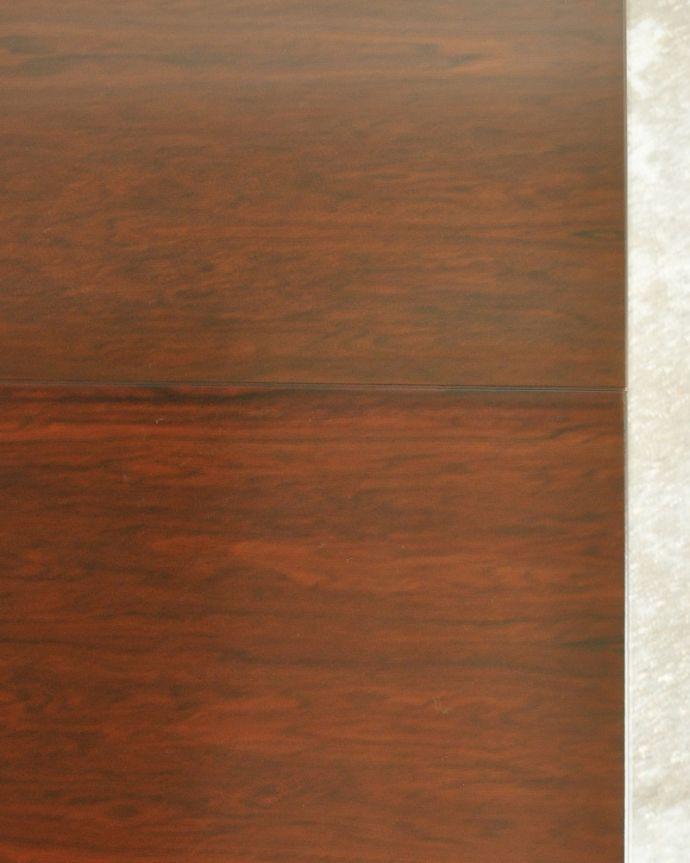 x-1239-f ビンテージダイニングテーブルの天板ズーム