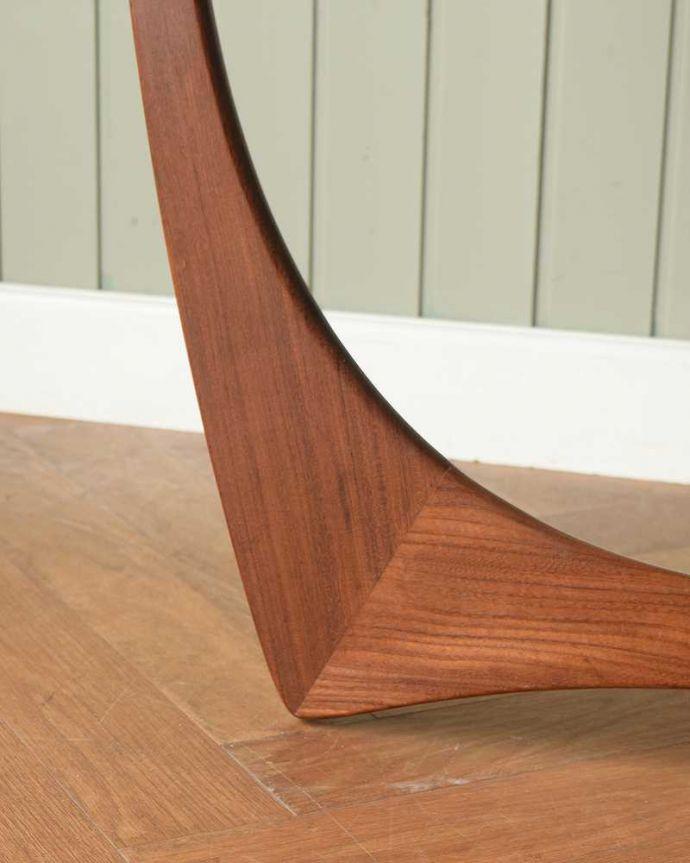 x-1262-f  アンティークオケージョナルテーブルの脚