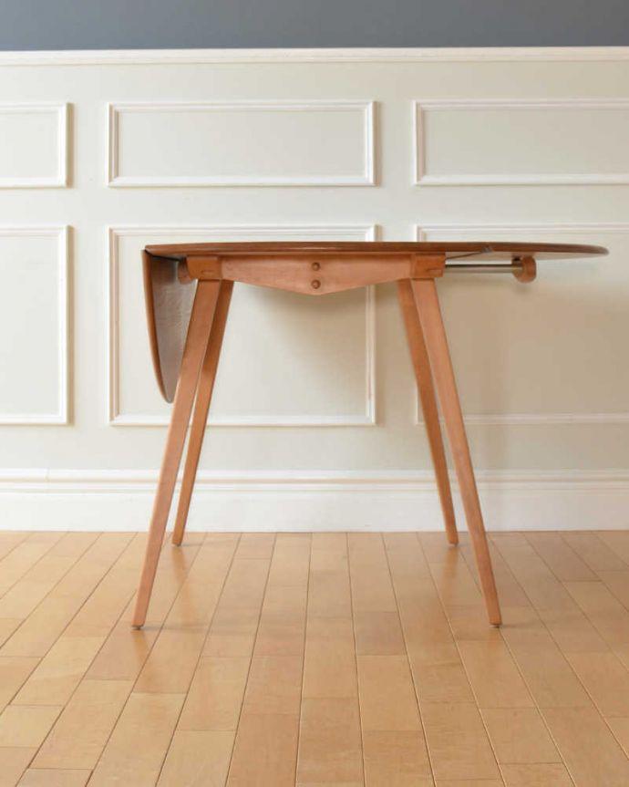 伸長式テーブルの天板