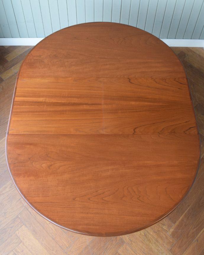 x-1307-f ビンテージダイニングテーブルの天板