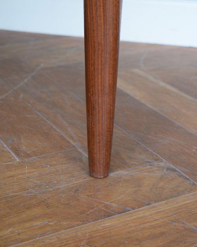 x-1307-f ビンテージダイニングテーブルの脚