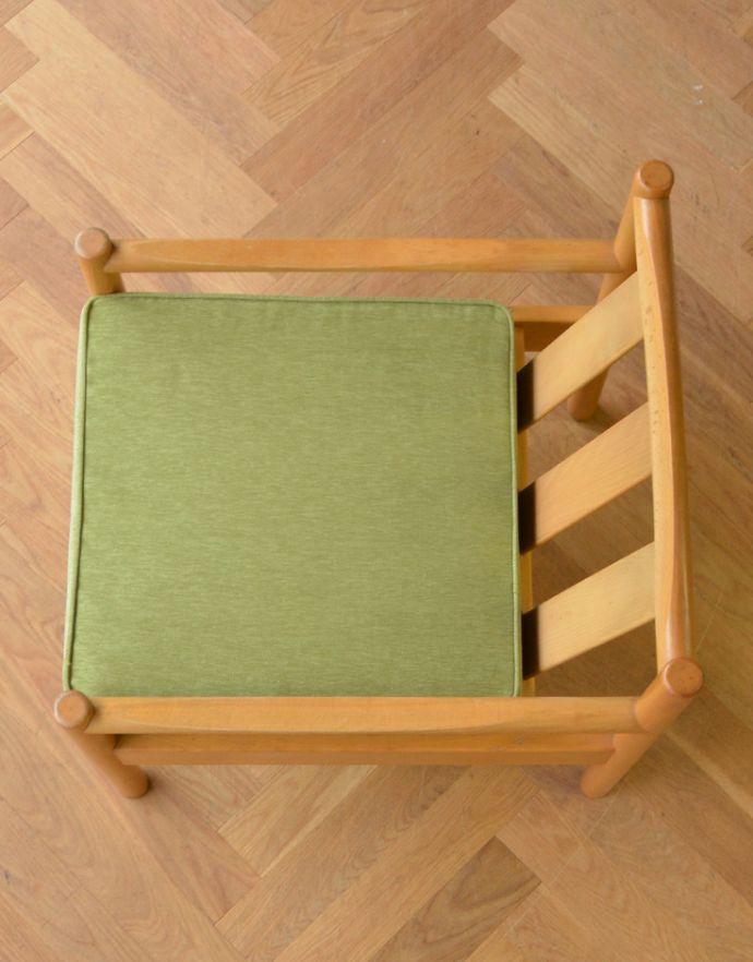 x-426-c アーコールの布張り1人掛けソファの座面