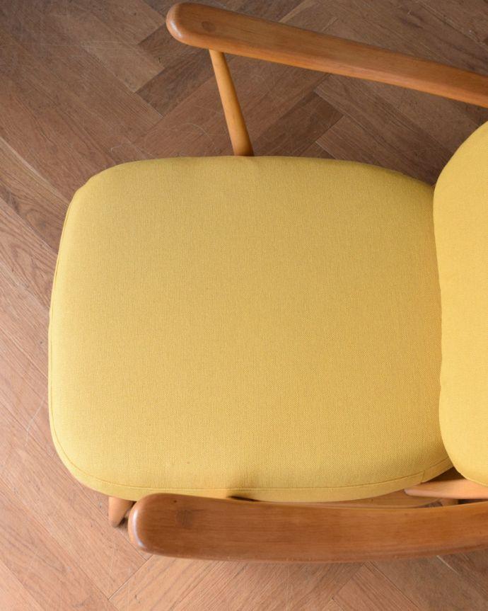 x-458-c アンティークアーコールソファ(3人掛け)の座面