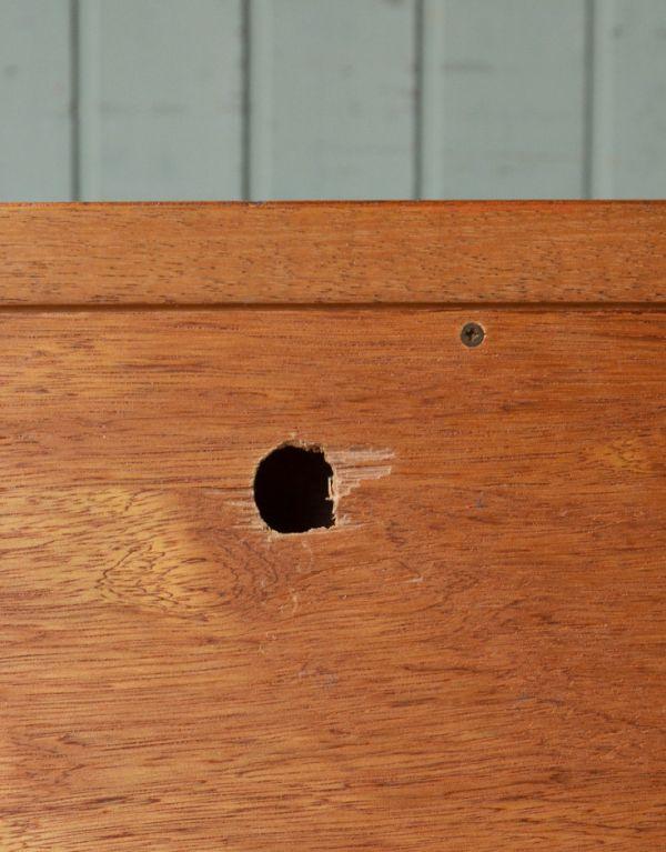 x-657-f ヴィンテージサイドボード(G-plan)の穴