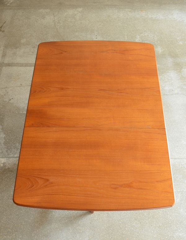 x-662-f ヴィンテージドロップリーフテーブルの天板