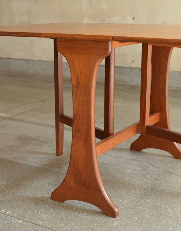 x-662-f ヴィンテージドロップリーフテーブルの脚