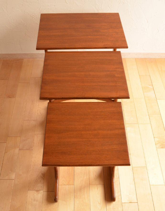 x-753-f ビンテージネストテーブル(G-plan)の天板