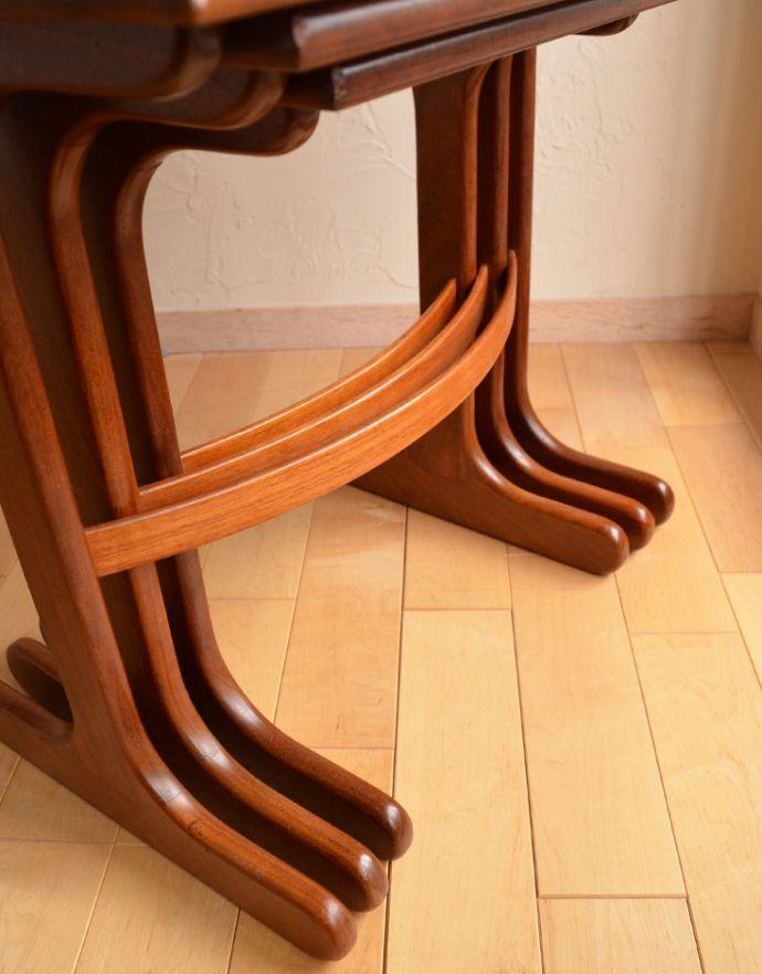 x-753-f ビンテージネストテーブル(G-plan)の脚