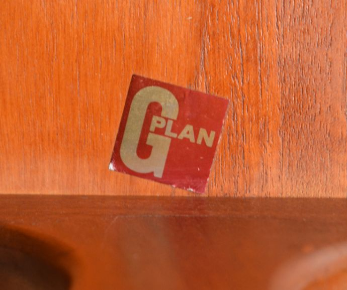 x-753-f ビンテージネストテーブル(G-plan)のタグ