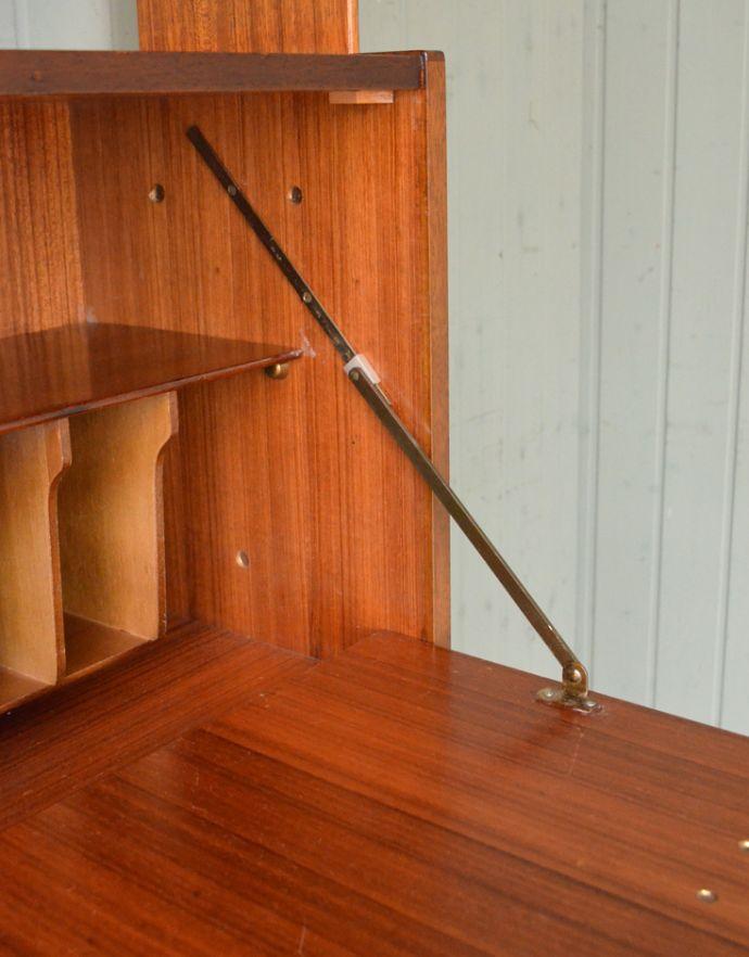x-763-f イギリス チーク ディバイダーの引き戸の金具