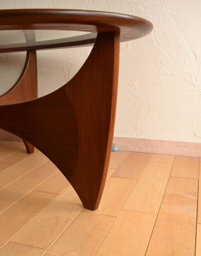 x-766-f アンティークコーヒーテーブルの脚