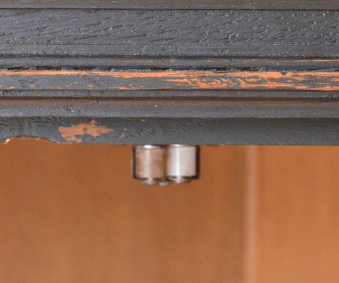 x-823-f アンティークガラスキャビネットのローラーキャッチャー