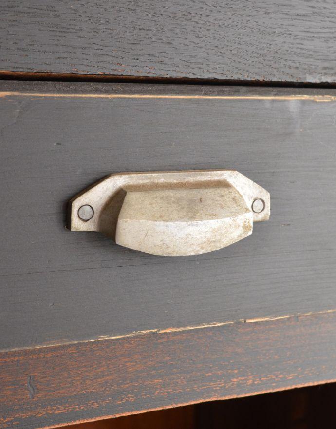 x-824-f アンティークカウンター(ブラックペイント)の取っ手