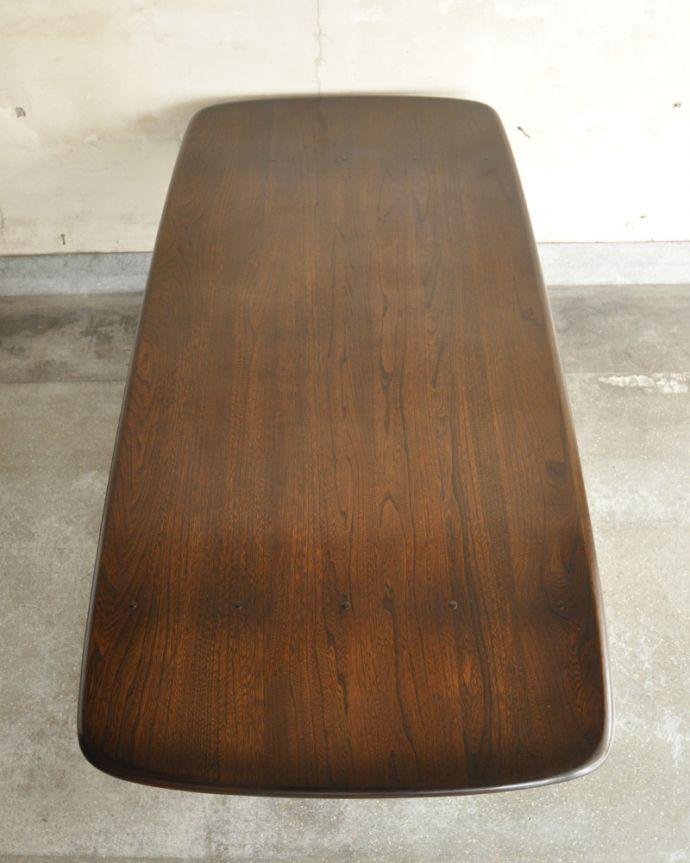 x-837-f アンティークアーコールダイニングテーブルの天板
