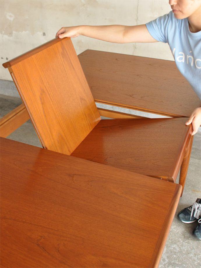 k-1002-f ビンテージダイニングテーブルの組み立て