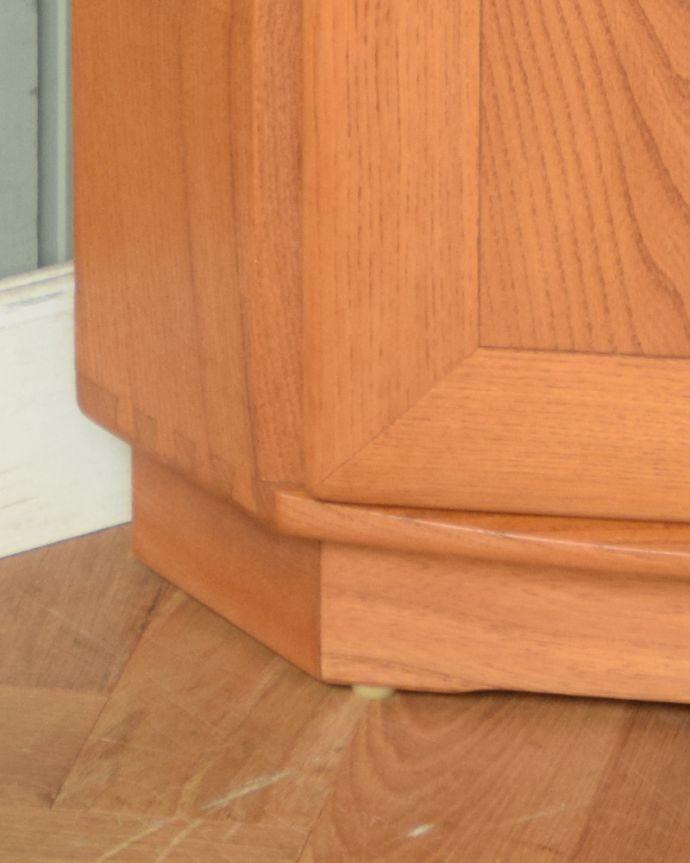 x-888-f アンティークアーコールコーナーキャビネットの脚