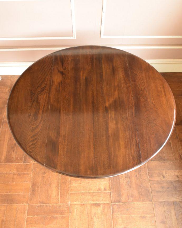 x-898-f アンティークアーコールドローリーフテーブルの天板