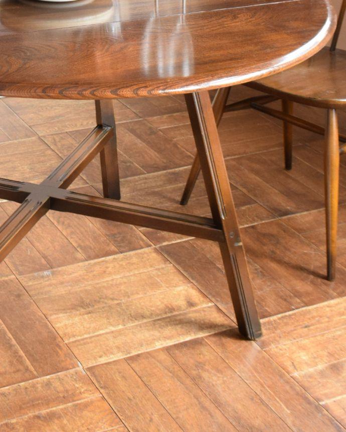 x-898-f アンティークアーコールドローリーフテーブルの脚
