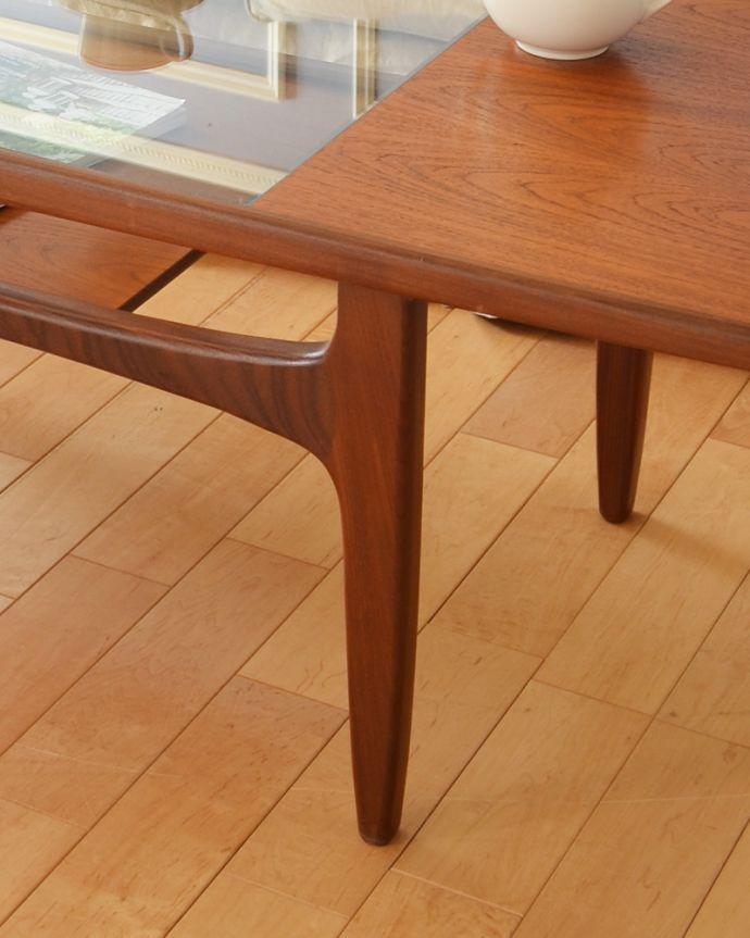 x-943-f ヴィンテージG-planセンターテーブル(リビングテーブル)の脚