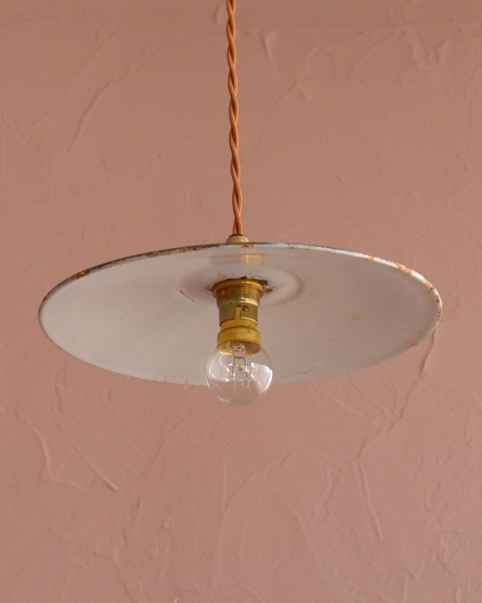 照明・ライティング ランプシェード 下から見上げると・・・実際に取り付けてカウンターやダイニングの下からのぞくとこんな感じです。(x-943-z)