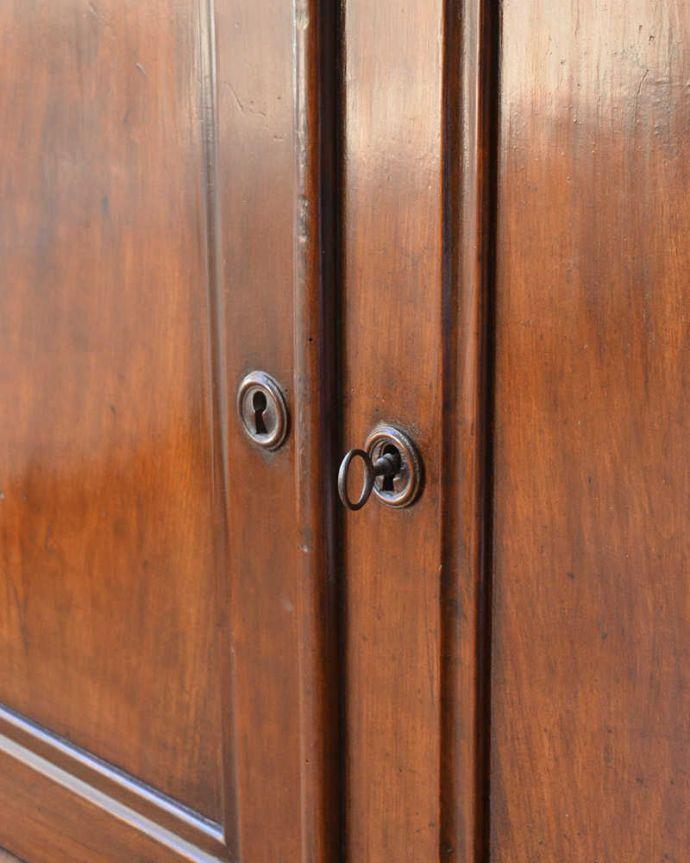 x-946-f-1 アンティークウェルシュドレッサーの扉面の取っ手