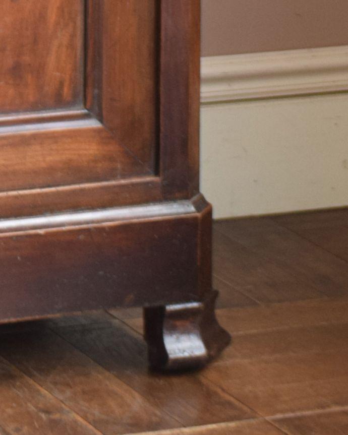 x-946-f アンティークキッチンキャビネット(カップボード)の脚
