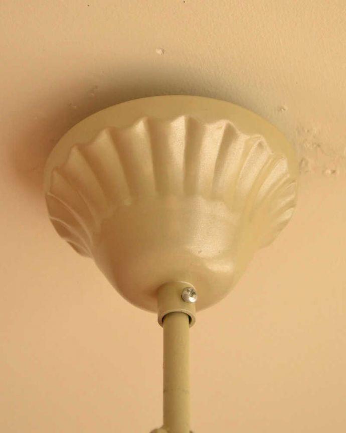 シャンデリア 照明・ライティング 手軽に使えるアクリルガラスがキレイなアンティーク風シャンデリア(6灯)(E12電球付) 。カバーも付いています。(cr-500)