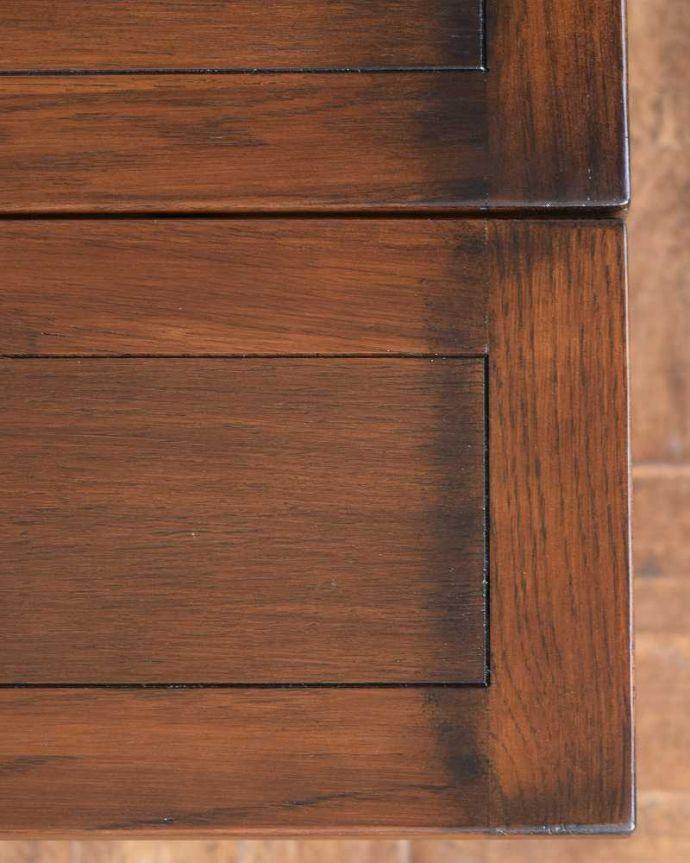 y-101-f アンティーク風 ドローリーフ テーブルの角