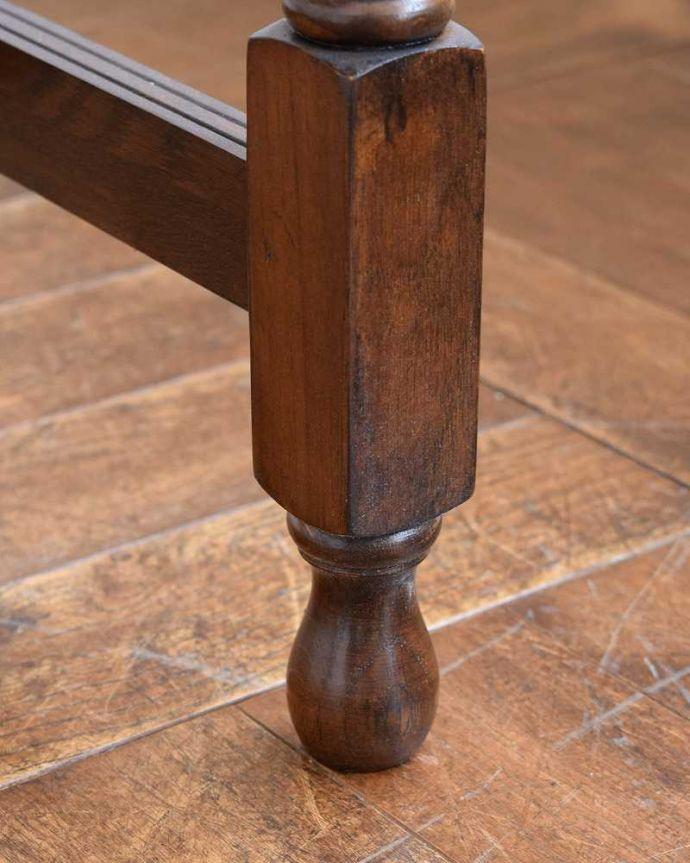 y-101-f アンティーク風 ドローリーフ テーブルの脚