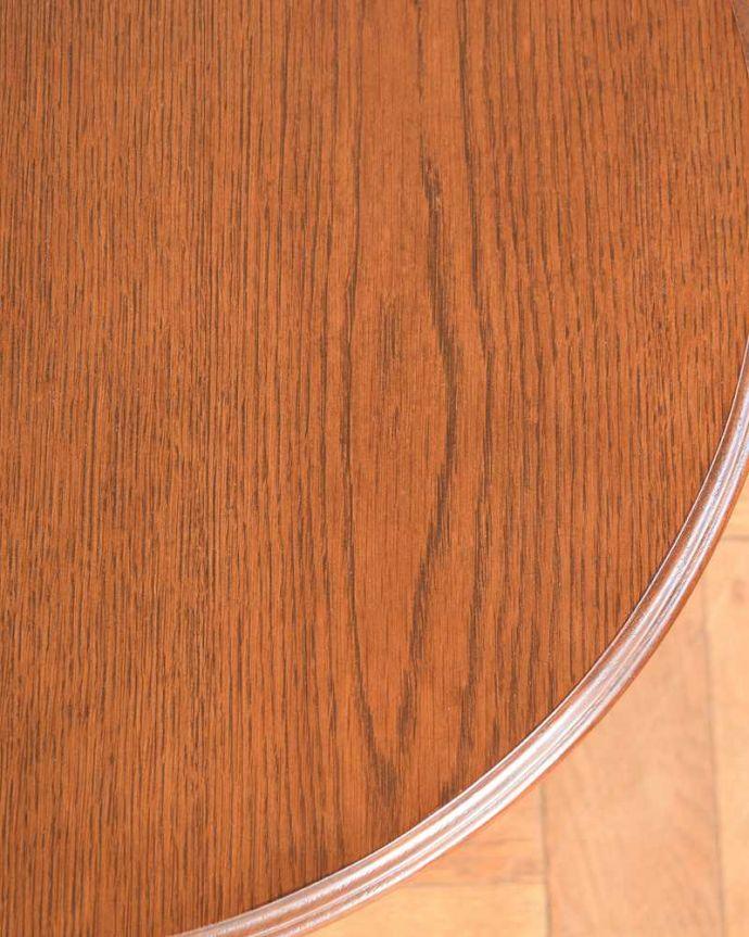y-192-f アンティークワインテーブルの天板ズーム