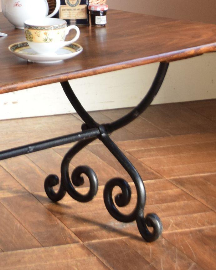 y-212-f アンティーク風ローテーブル(コーヒーテーブル)の脚