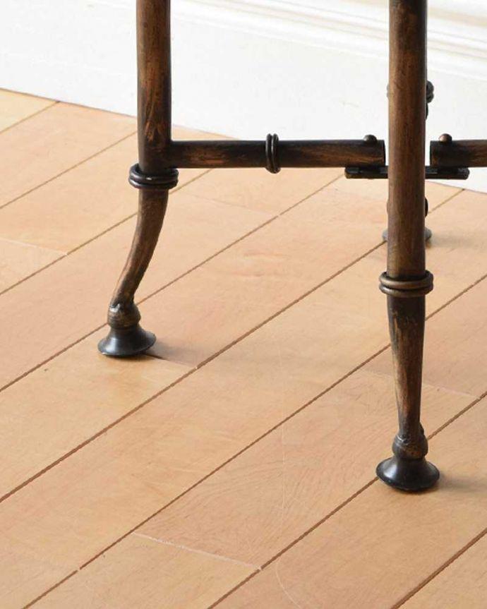 y-233-f 木製天板×アイアンテーブルの脚