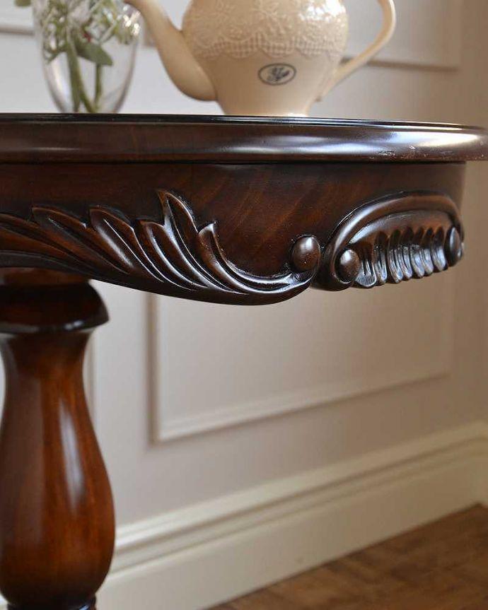 y-261-f アンティークオケージョナルテーブルの装飾