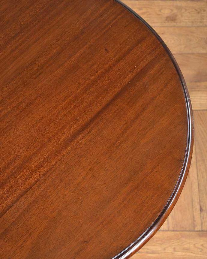 y-111-f アンティークオケージョナルテーブル天板アップ