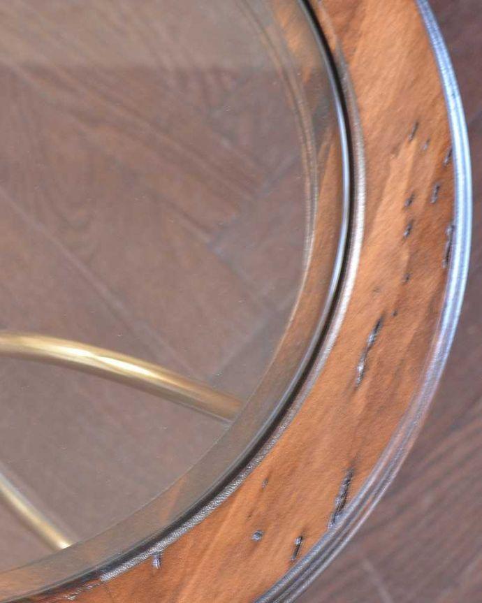 y-330-f ワインテーブルの天板ズーム