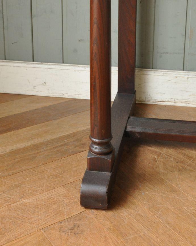 z-003-f アンティークアーコールカップボード(シェルフ)の脚