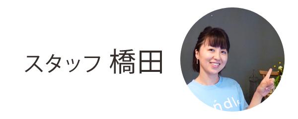 スタッフ 橋田