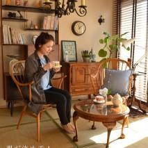 今月はどこにでもある和室とヴィンテージ家具をコラボさせた、カッコイイお部屋です。 すぐに、どのお家でも作れそう…そんな進化系のスタイルはいかが?