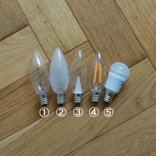 ろうそく型LED電球