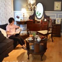 夏の暑さも落ち着く頃、そろそろ自分だけの落ち着き空間を作ってみませんか? 今回は、高級な象嵌を使った家具をメインに、個室を作ってみました。
