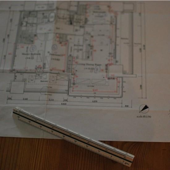 図面から家具をレイアウト