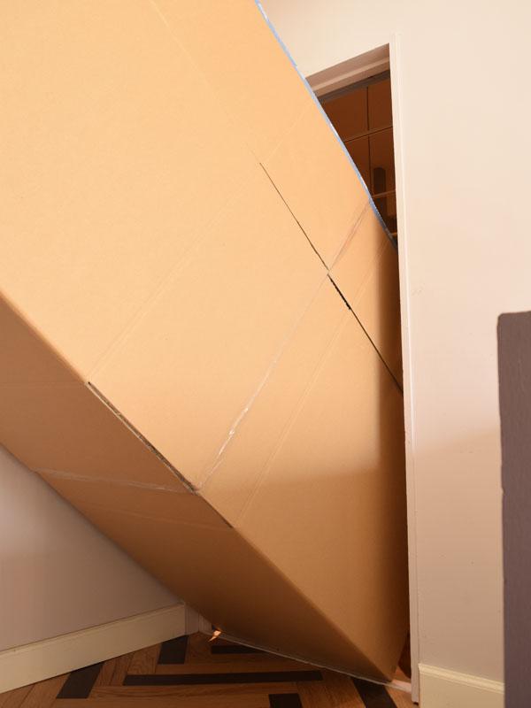 大型家具を階段からお家の二階に搬入、運び入れる方法 - インテリア ...