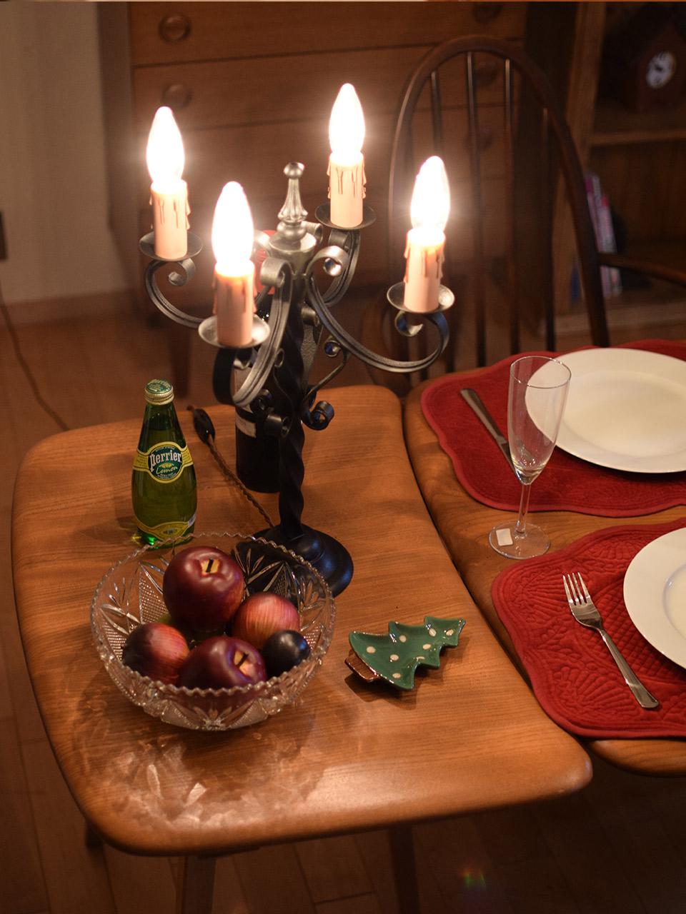 アーコールのテーブル