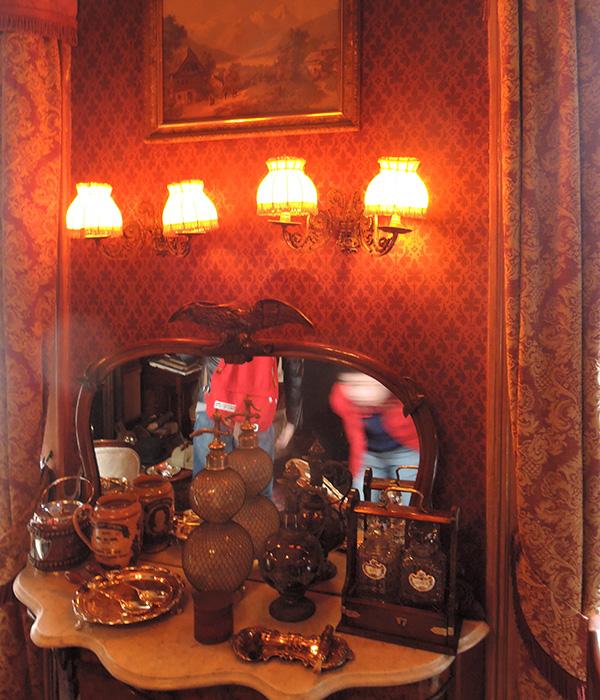 シャーロック・ホームズミュージアム、ホームズとワトソンの部屋