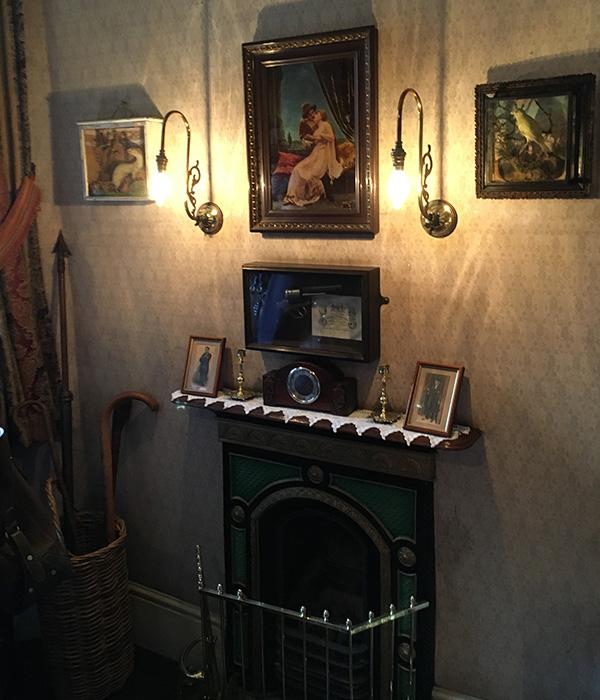 3階ワトソン博士の部屋、ビクトリア期のお家
