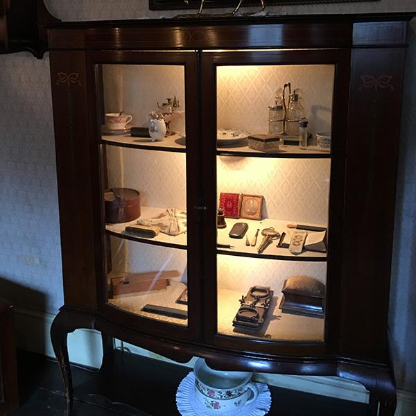 シャーロック・ホームズミュージアム、3階ワトソン博士の部屋