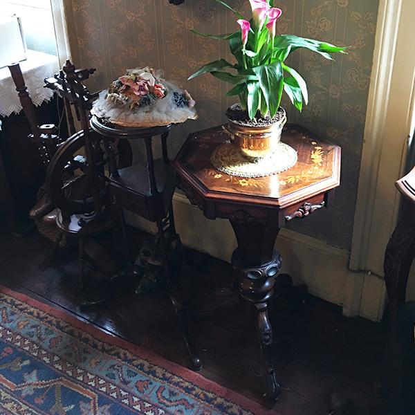 3階ハドソン夫人の部屋 プランツスタンド